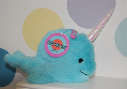 Jellycat Seas the Day Aqua Purse